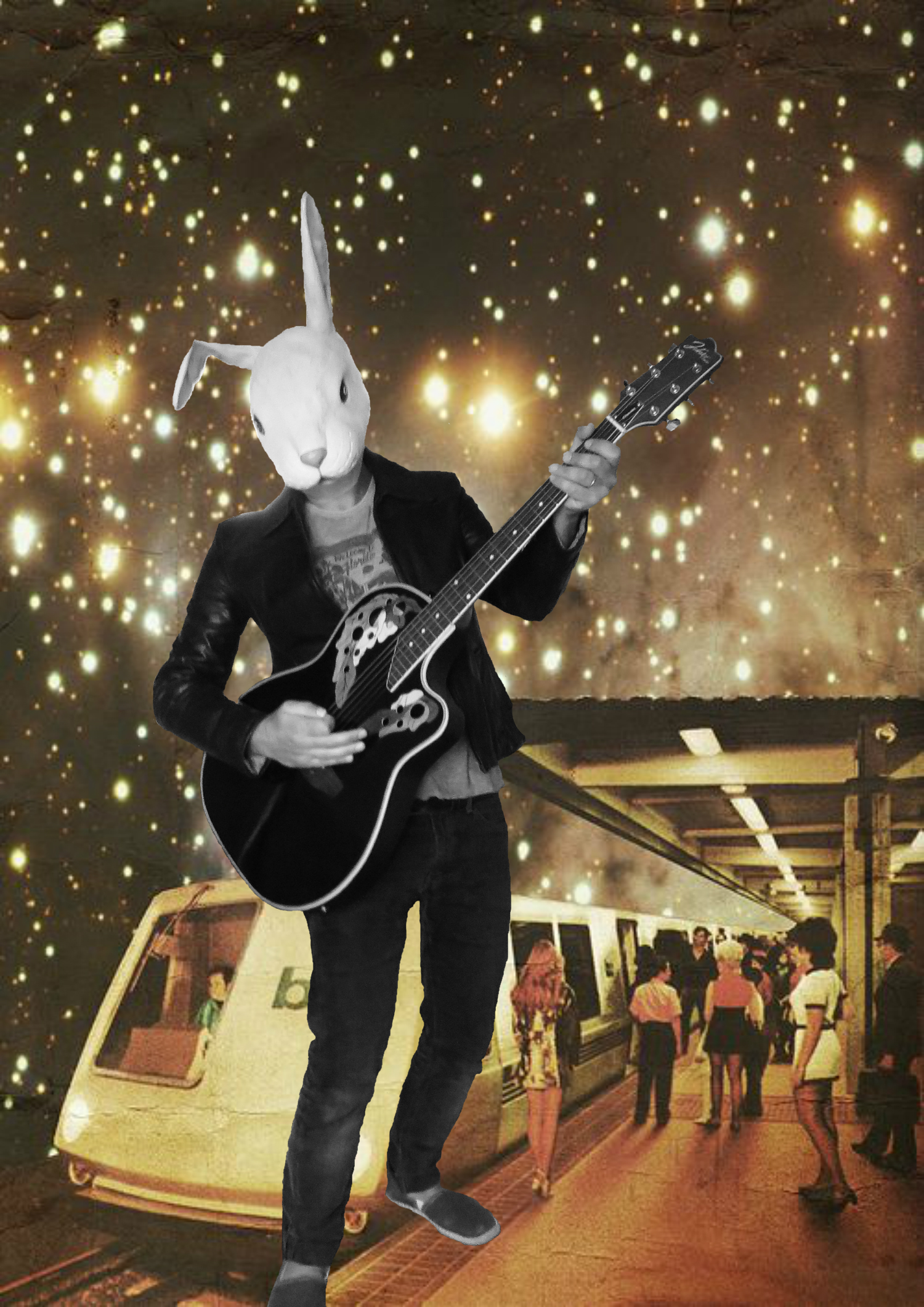 Bien arrivé à la station ciel et de là haut je suis ton homme plus que jamais ... (Léonard Cohen) Well arrived at the station sky and from there I am your man more than ever ... (Léonard Cohen)